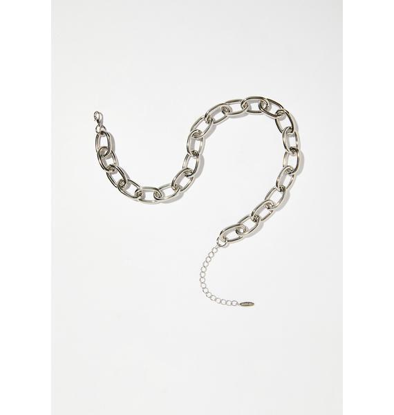 Stone Maiden Chain Necklace