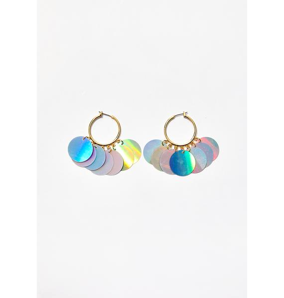 Celestial Fairy Metallic Earrings