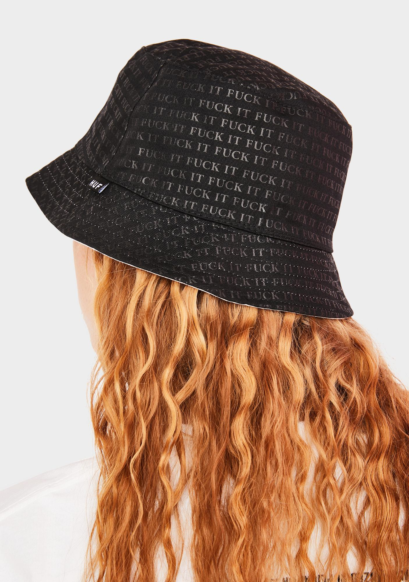 HUF F It Reversible Bucket Hat