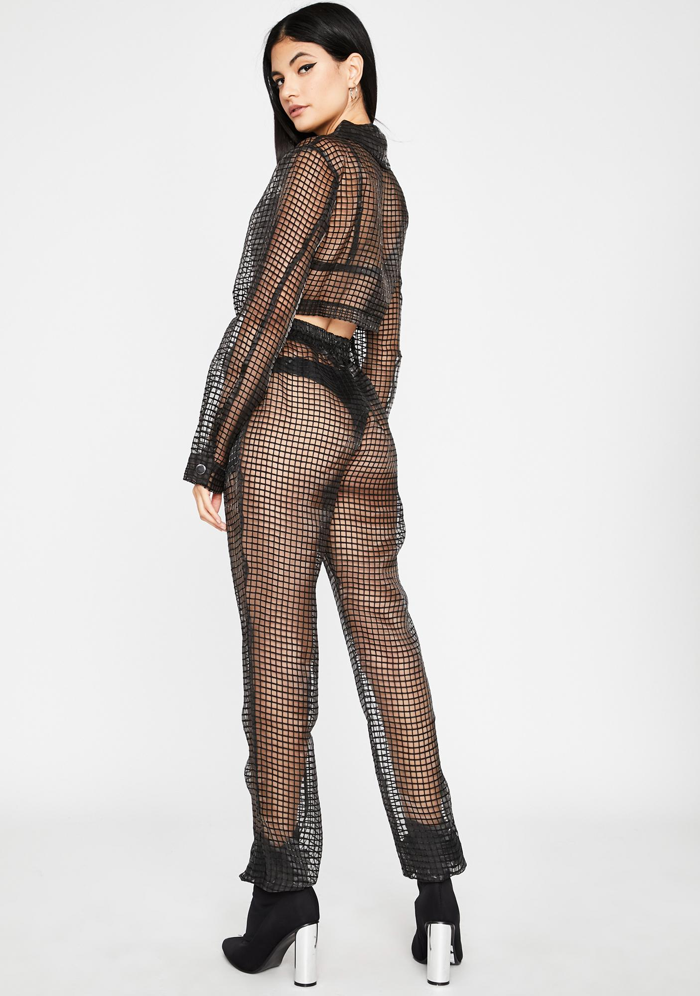 Dangerous Bish Sheer Pant Set
