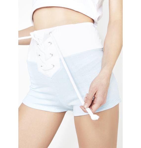 Wildfox Couture Contrast Mae Shorts