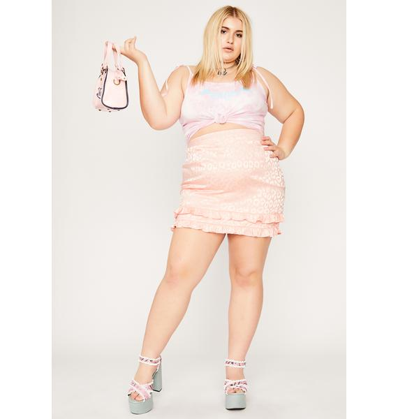She's Fierce For U Leopard Mini Skirt