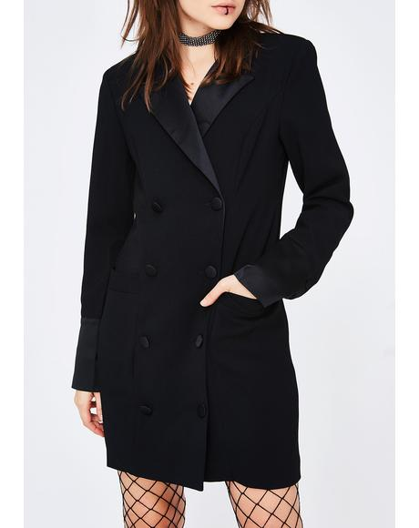 Business N' Pleasure Blazer Dress