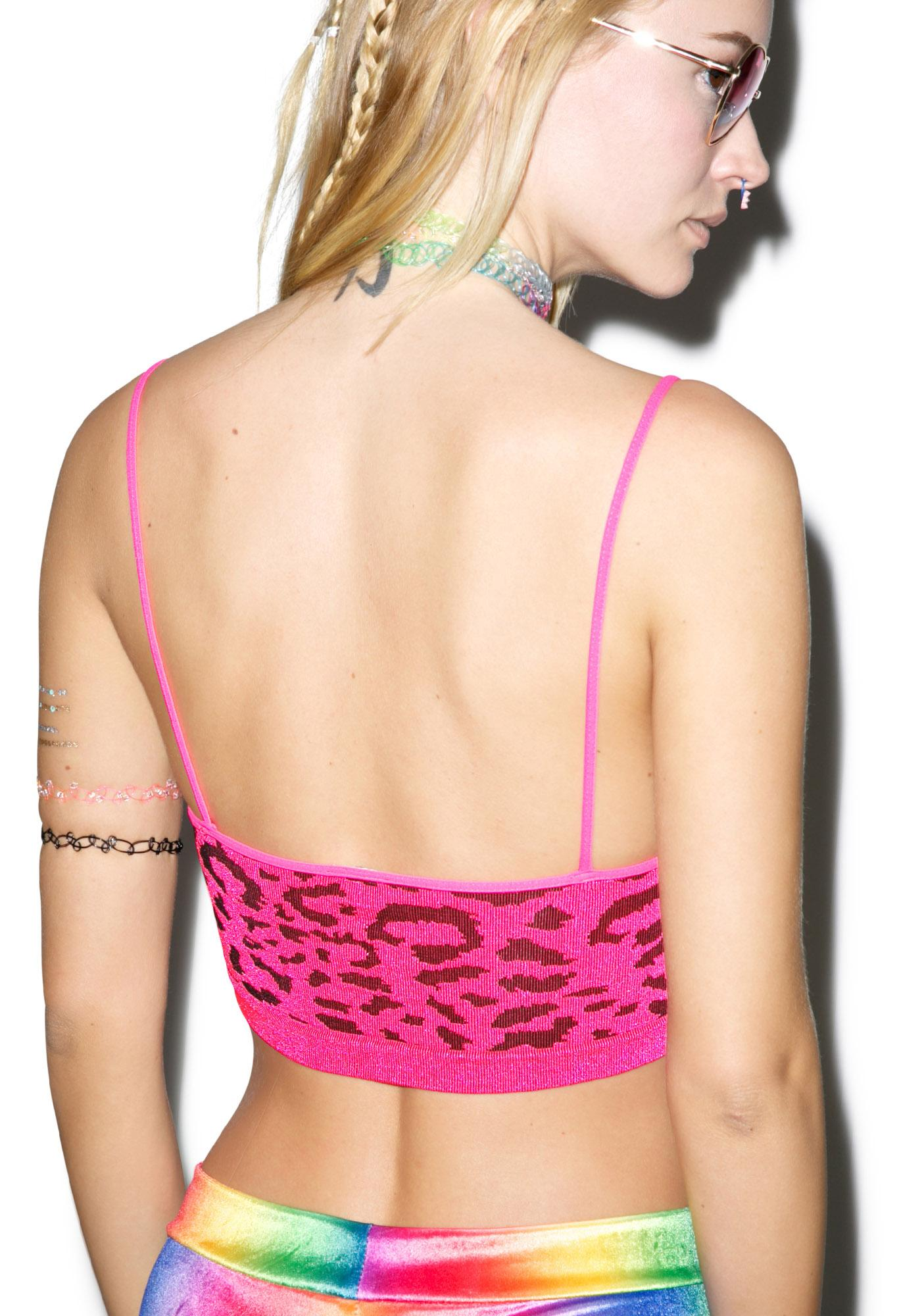 Neon Jungle Gal Bralette