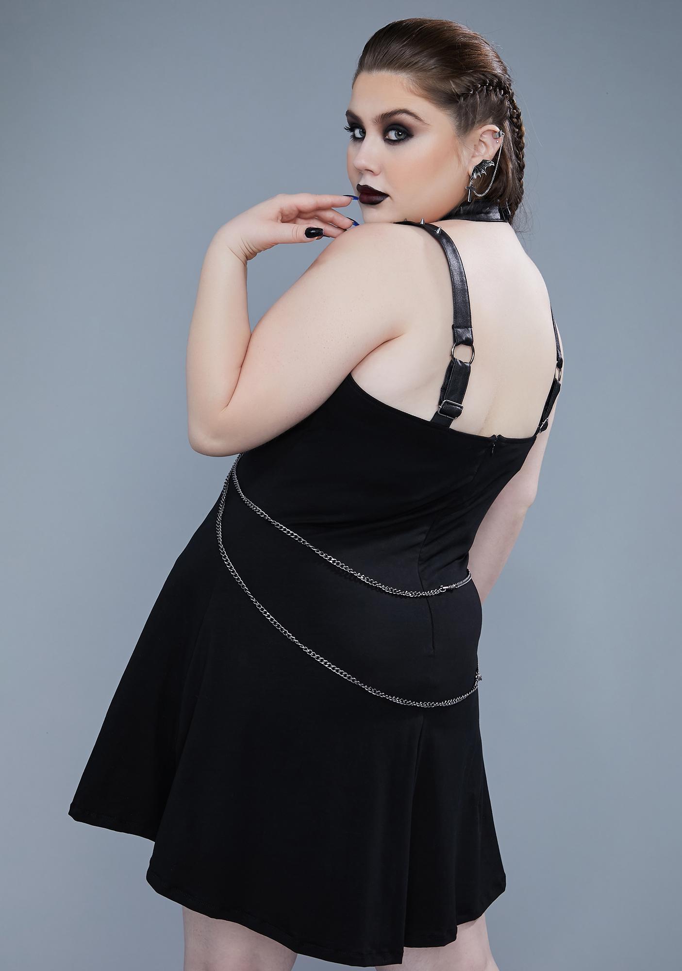 Widow She's Withered Away Mini Dress