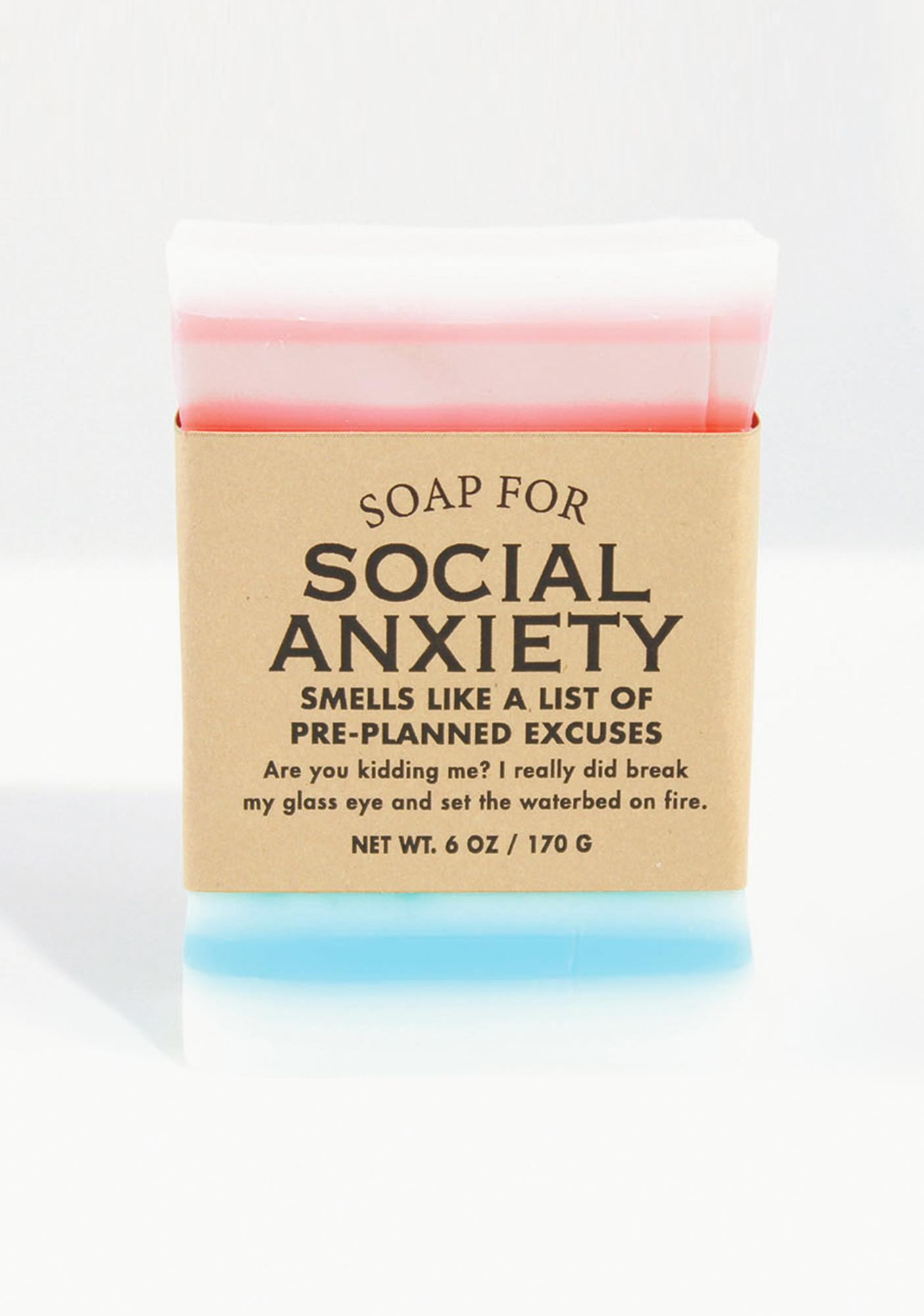 Whiskey River Soap Soap For Social Anxiety