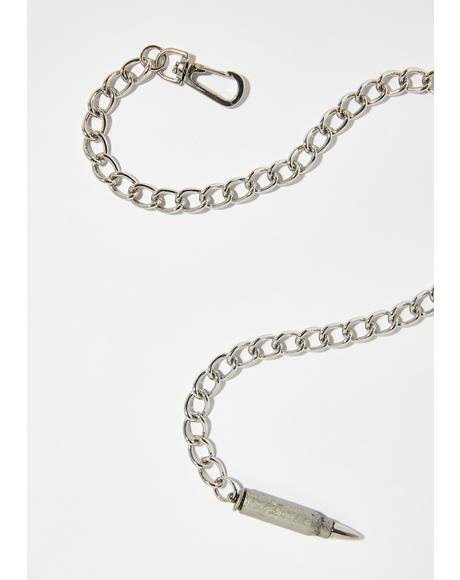 Bulletproof Babe Chain Necklace
