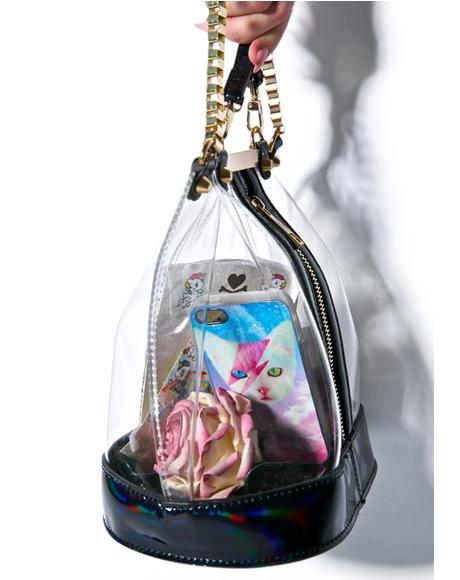 Vexed Clear Bucket Bag