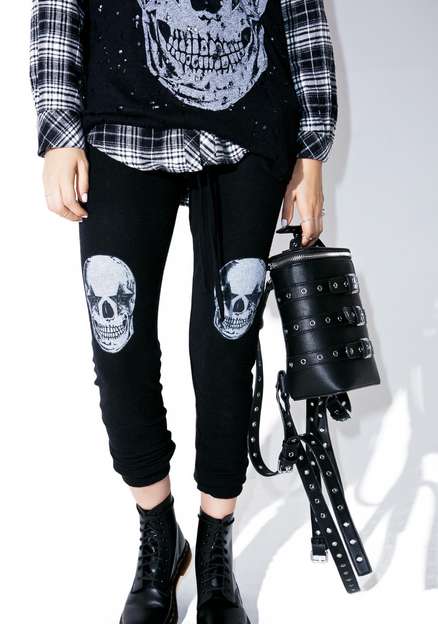 Lauren Moshi Rockstar Kizzy Classic Sweatpants