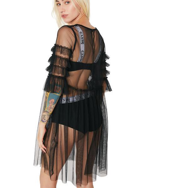 Glamorous Ophelia Sheer Babydoll Dress