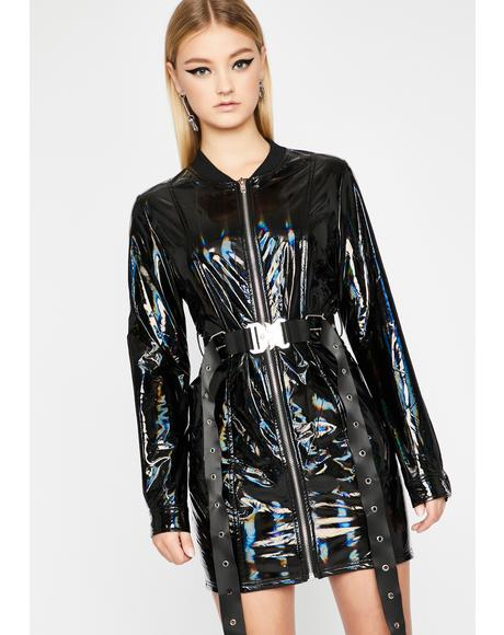 Dark Utopia Holographic Jacket