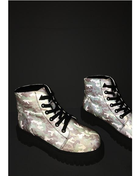 I Kno U See Me Slayr Boots