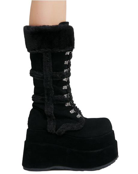 Full Of Fury Platform Boots