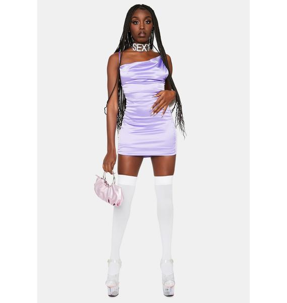 Party Princess Satin Bodycon Dress