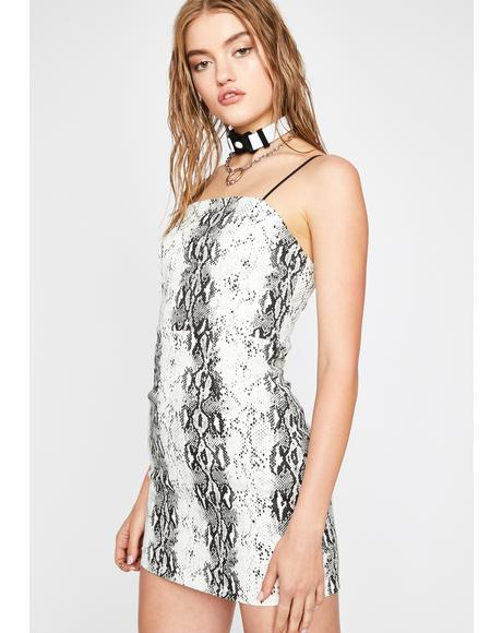 In For The Kill Mini Dress