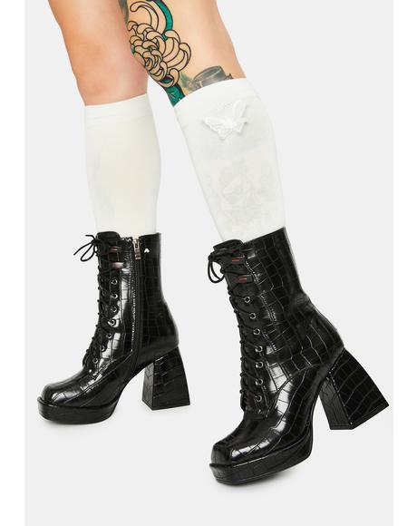 Draft Square Toe Boots