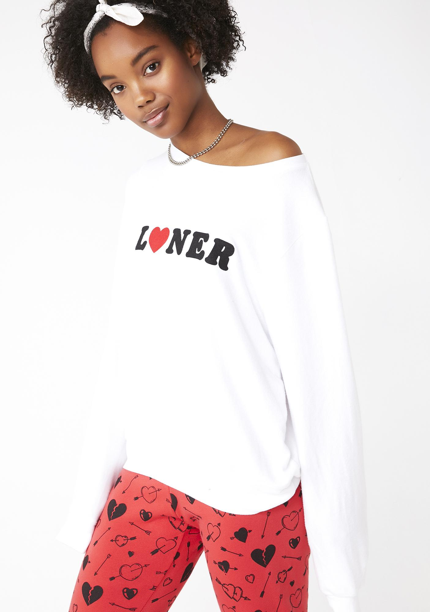 Wildfox Couture Loner Baggy Beach Jumper
