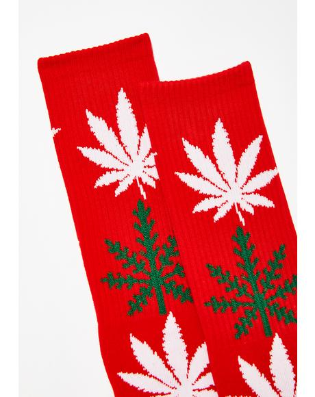 Glowflake Plantlife Socks