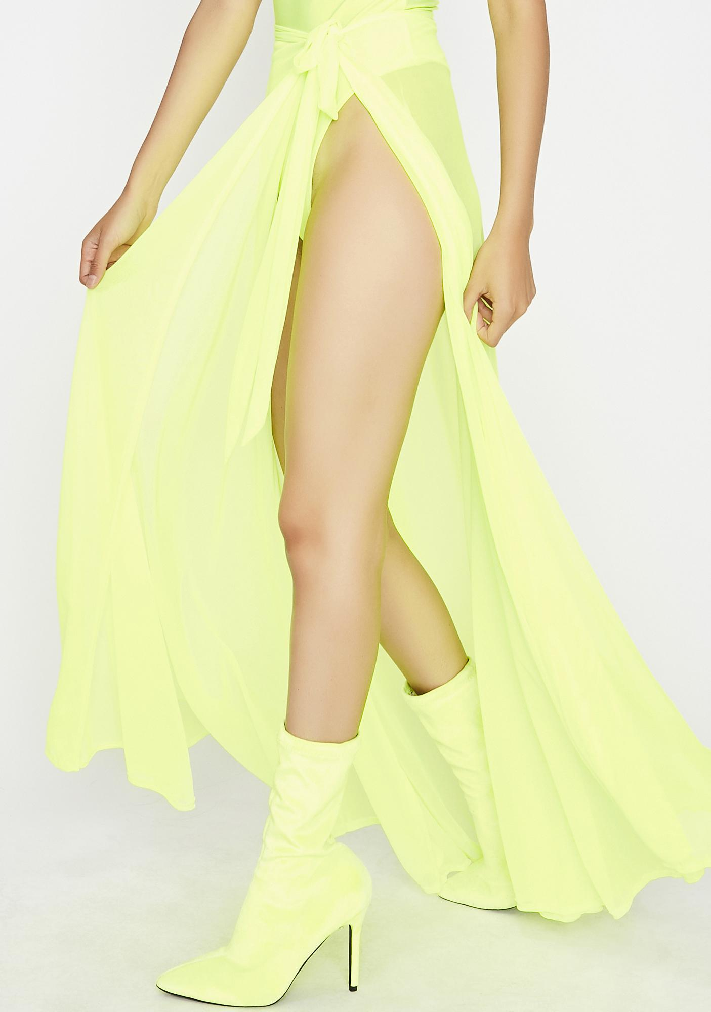 Nothin' To It High Maxi Skirt