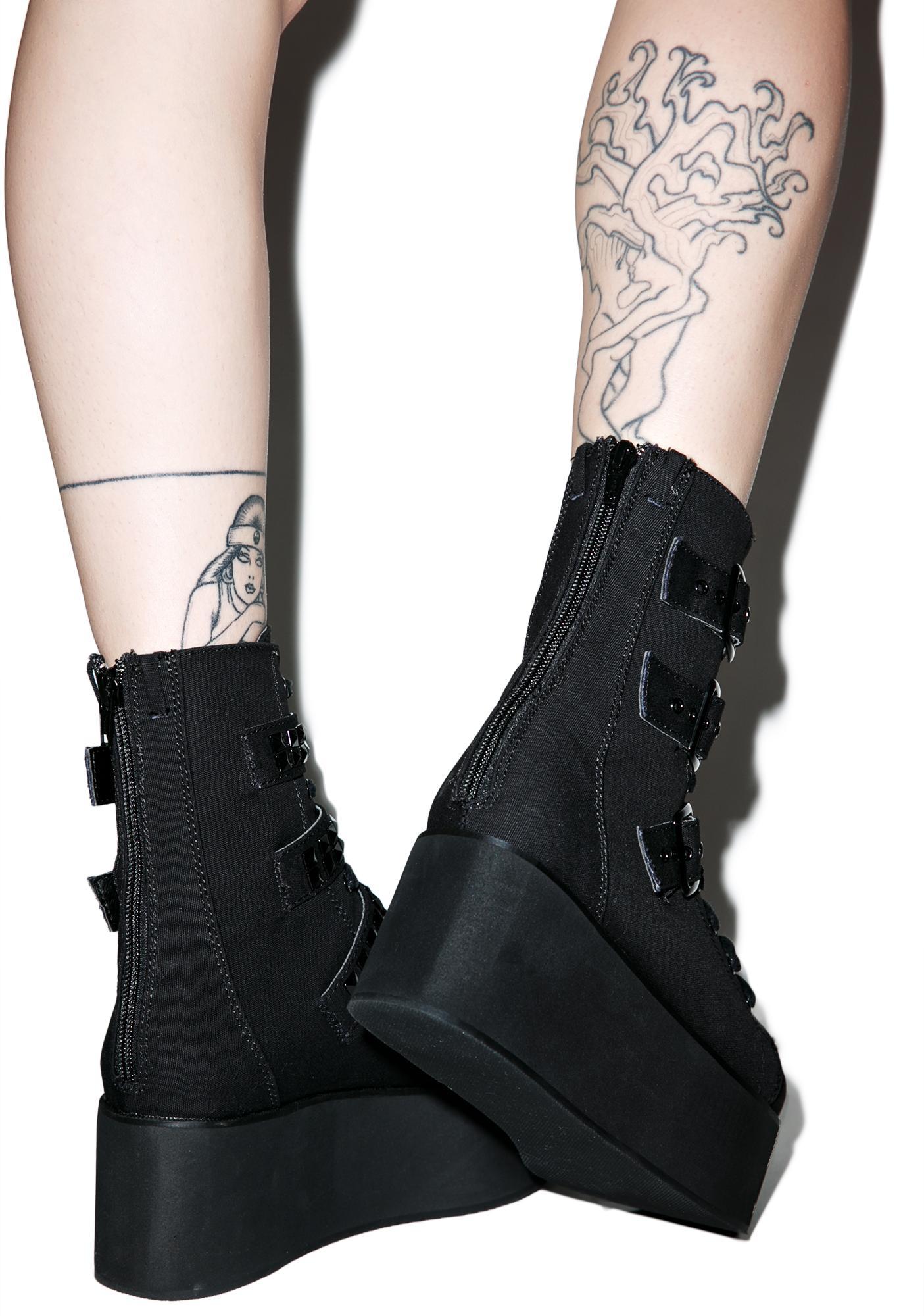 Demonia Ridley Platform Boots