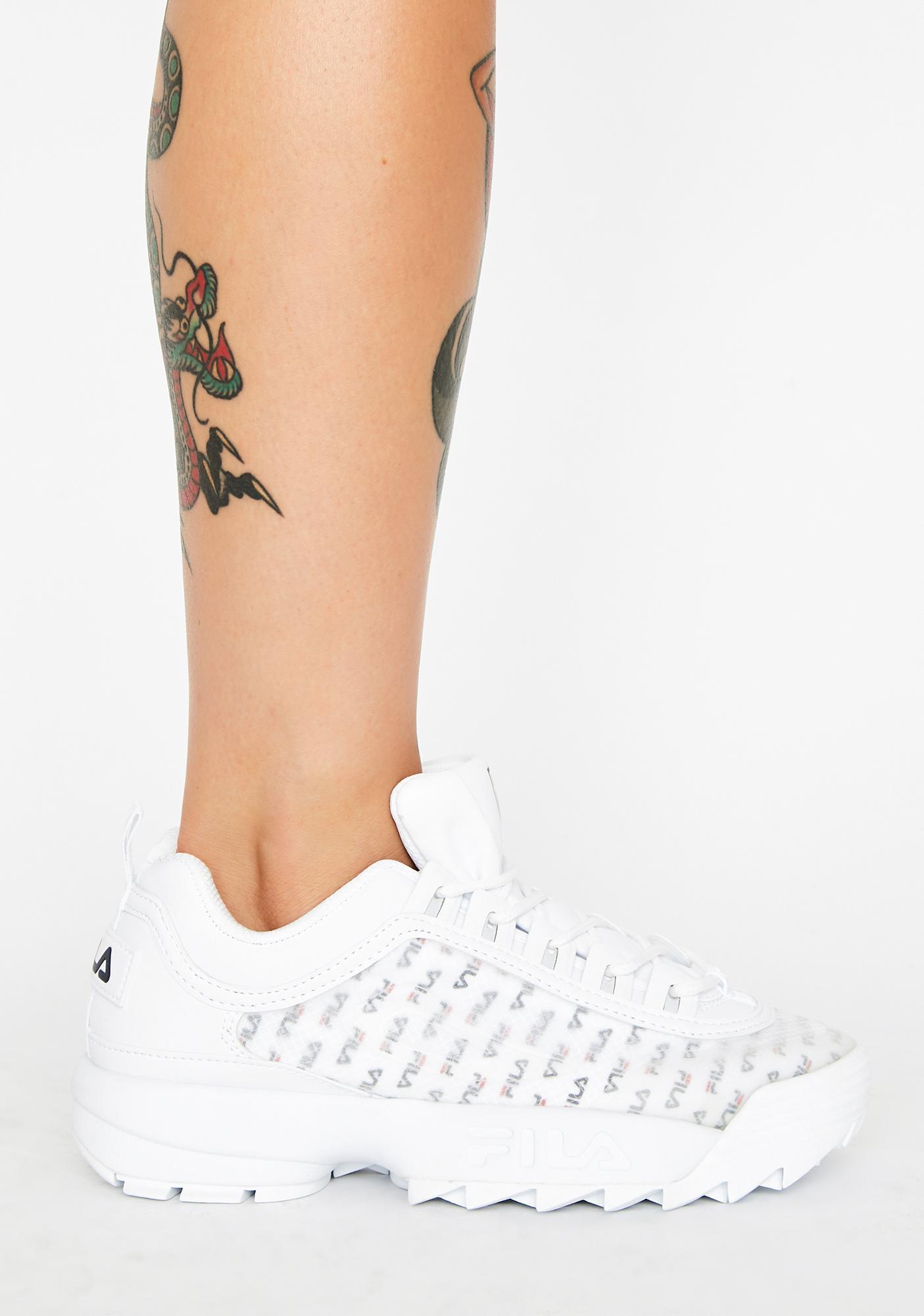 Fila Disruptor 2 Clear Logos Sneakers