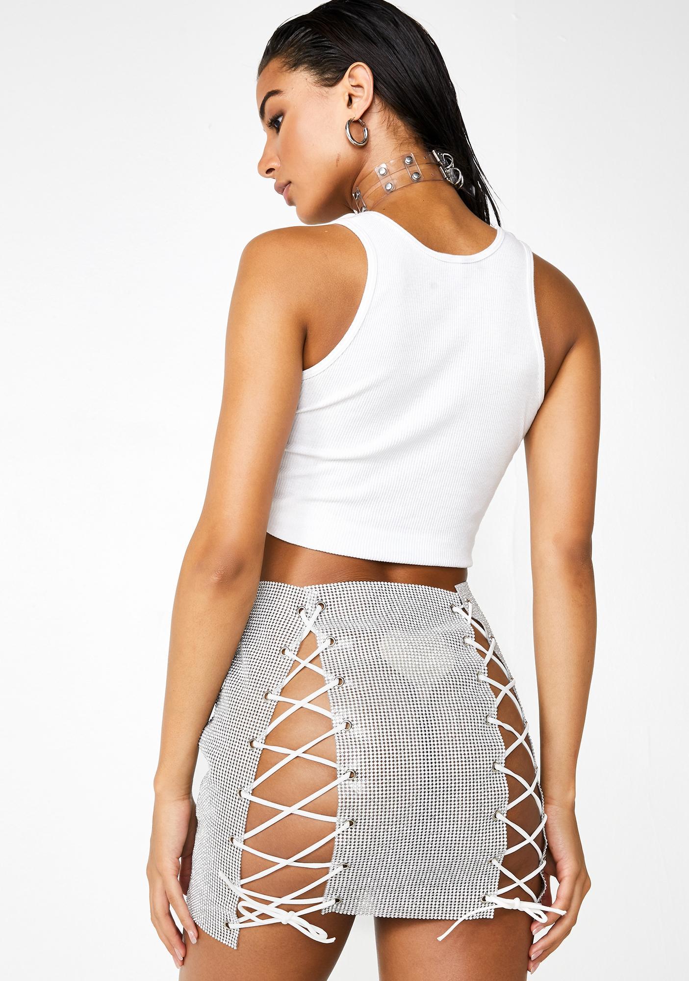 Dare To Dance Mini Skirt