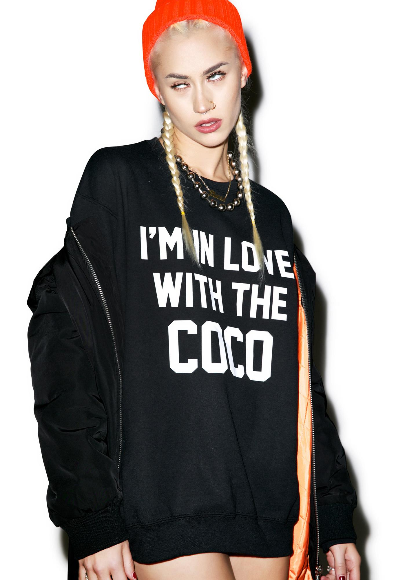 Private Party In Love With The Coco Sweatshirt