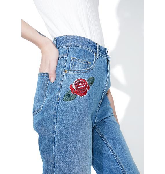 Mink Pink True Beauty Rose Scando Jeans
