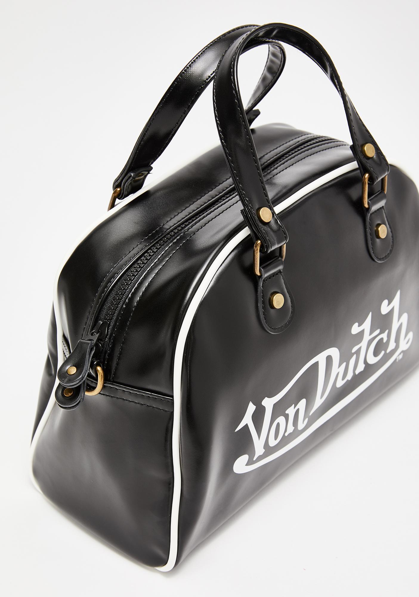Von Dutch Dark Medium Bowling Bag