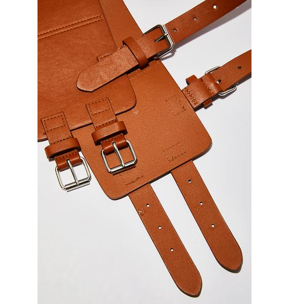 Amber Strappin' Up Harness Belt