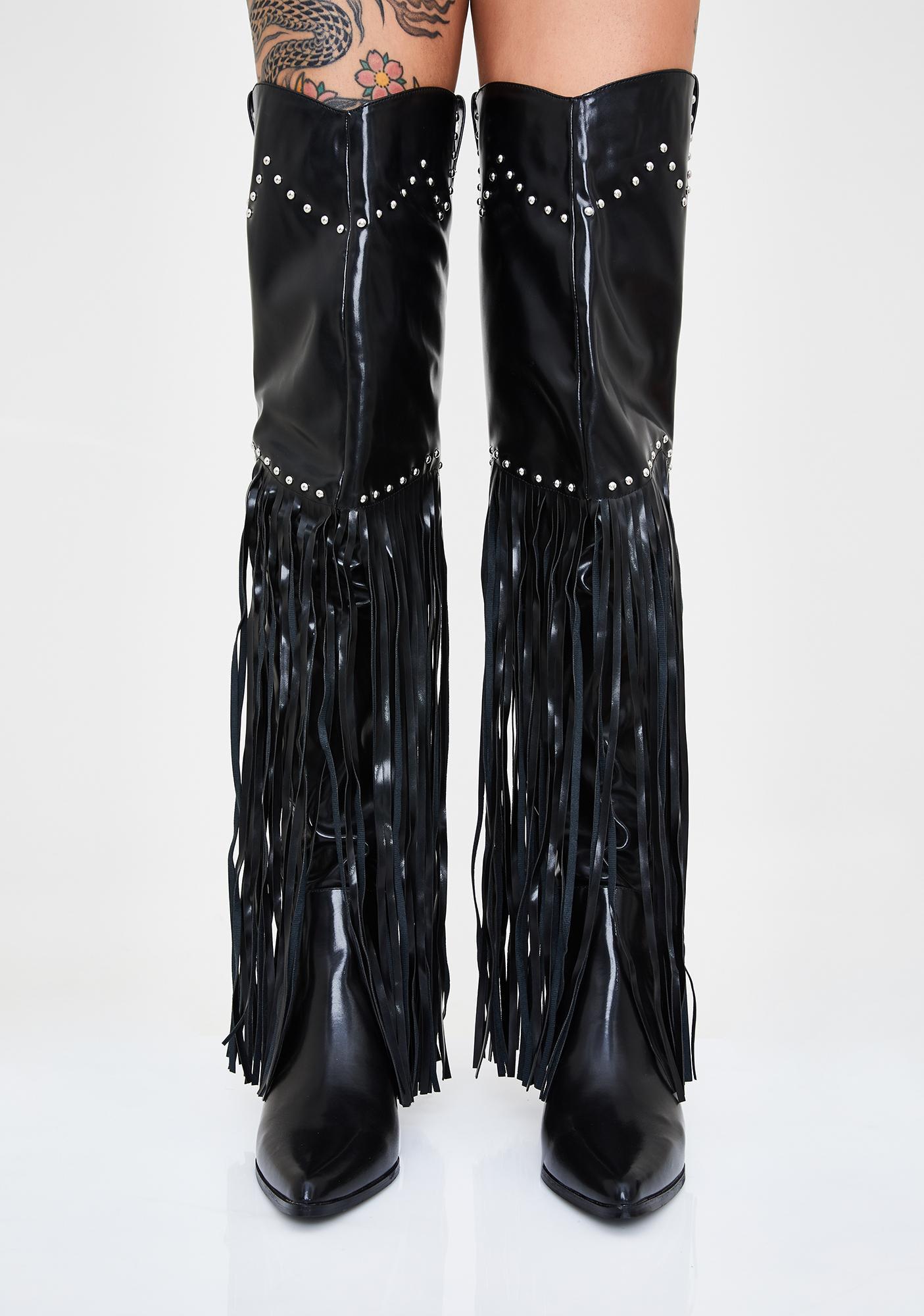 Night Shakin' Showdown Cowboy Boots