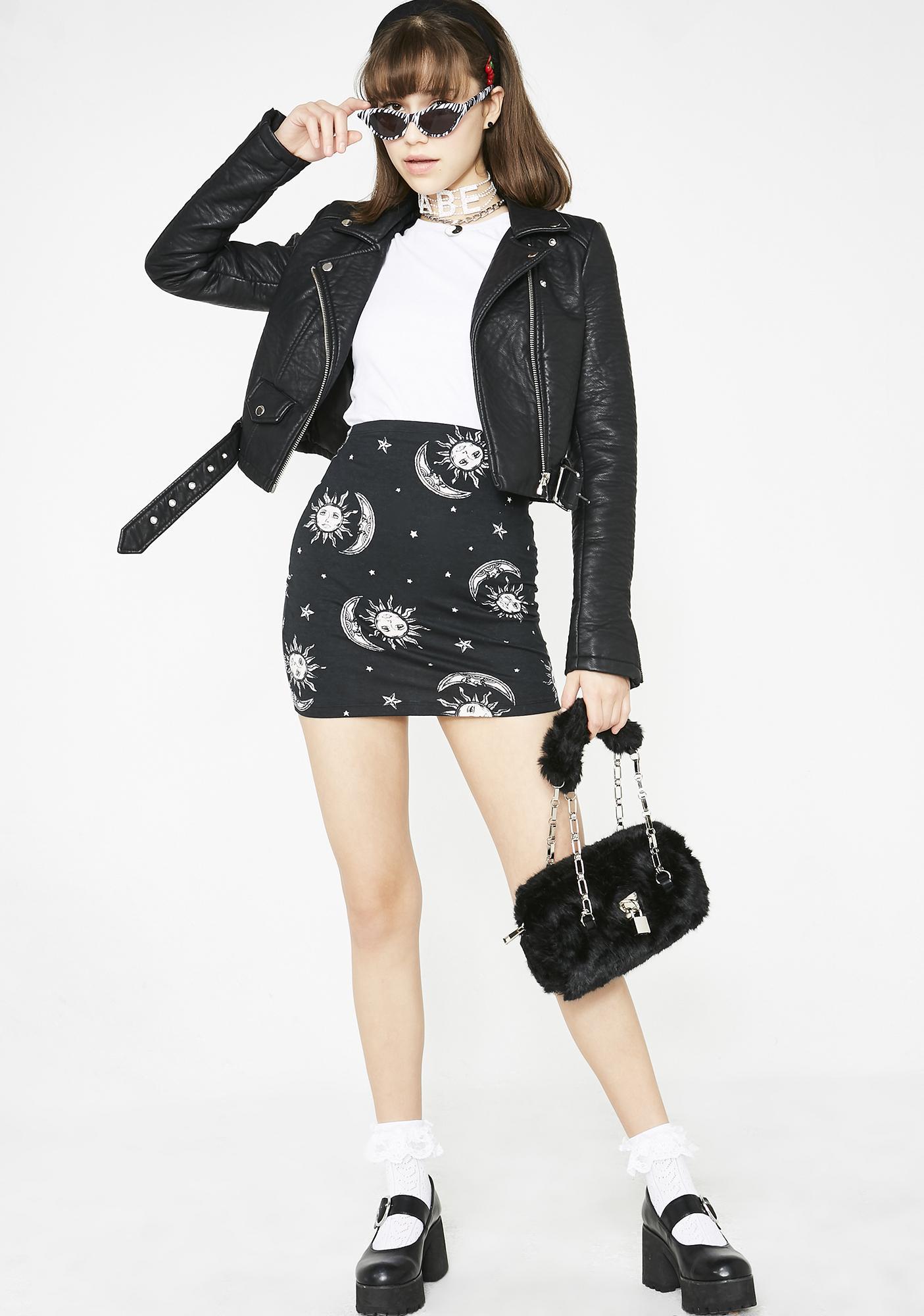 Motel Celestial Kimmy Skirt