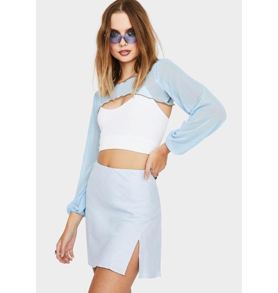 Ethereal Mood Mini Skirt