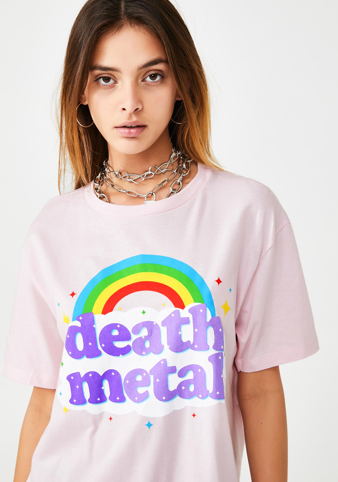 Goodie Two Sleeves Death Metal Graphic Tee
