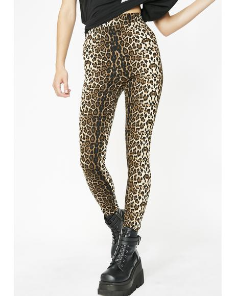 Sexy Beast High Waist Leggings