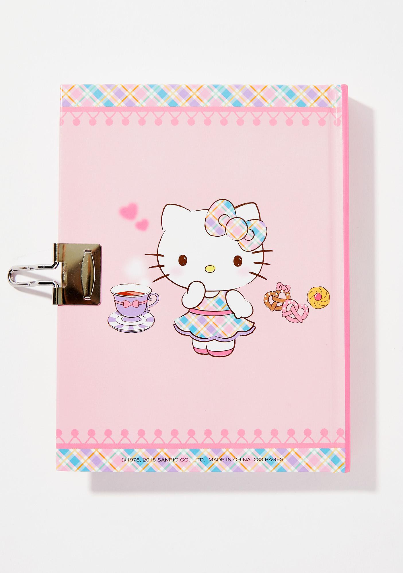 Sanrio Tea Locking Diary