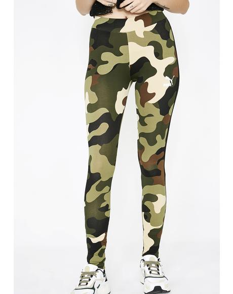 Camo Wild Pack T7 Stripe Leggings