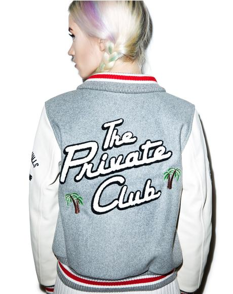 The Private Club Varsity Jacket