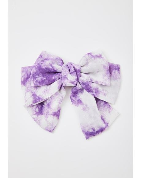 Royal Meltdown Hair Bow