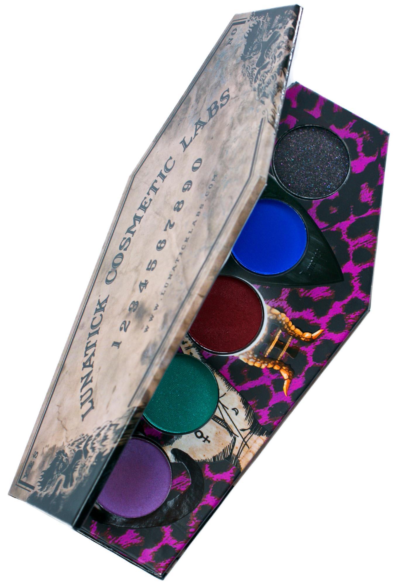 Lunatick Cosmetic Labs Zombie Defense Eye Shadow Palette