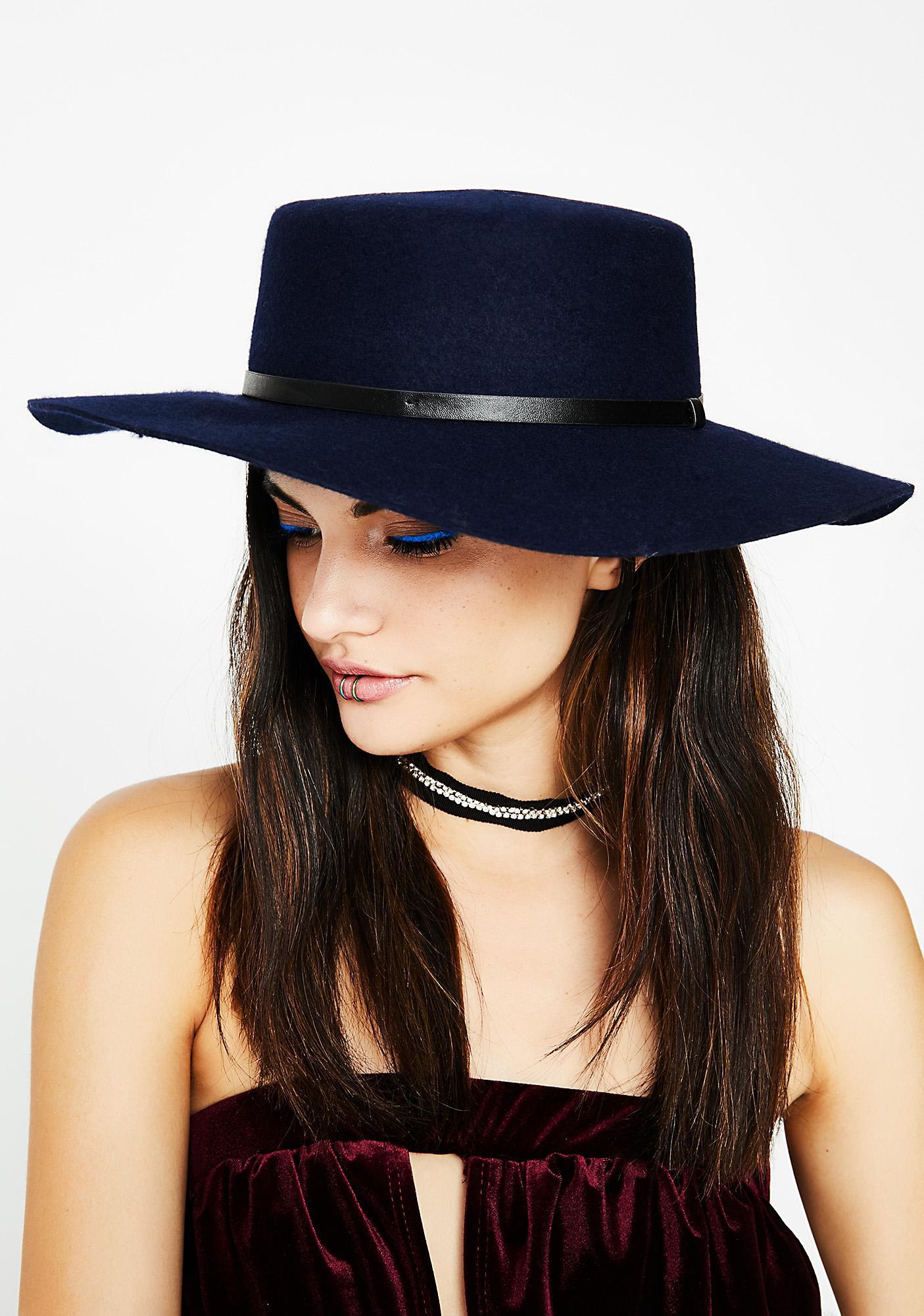 Sapphire Wild West Hat
