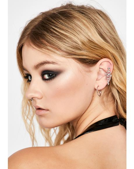 Toxic Habits Snake Ear Cuff