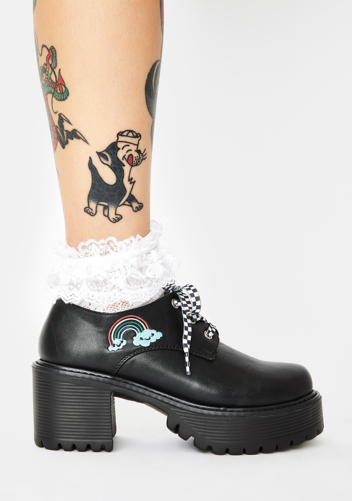 Koi Footwear KU Platform Mary Janes