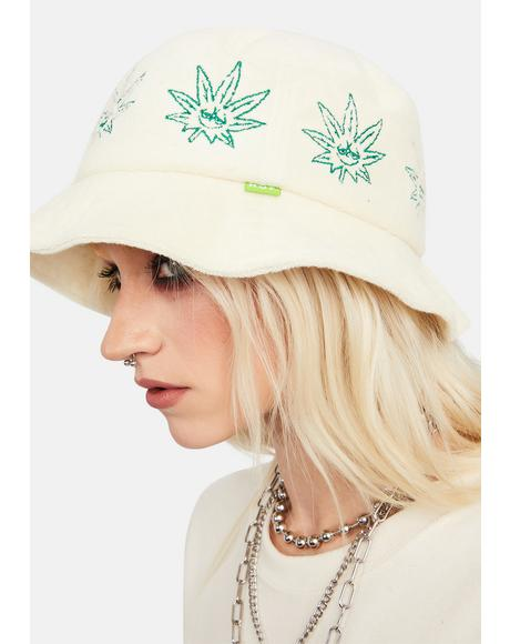 Green Buddy Terry Cloth Bucket Hat
