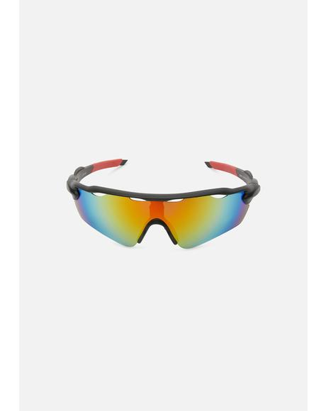 Perfect Future Shield Sunglasses