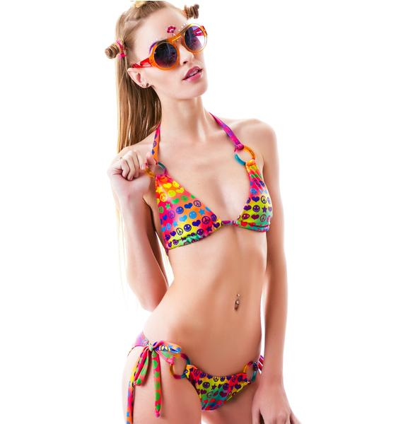 J Valentine PLUR Happiness Bikini