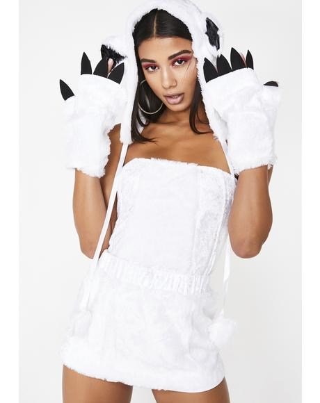 Snowy Babe Polar Bear Costume