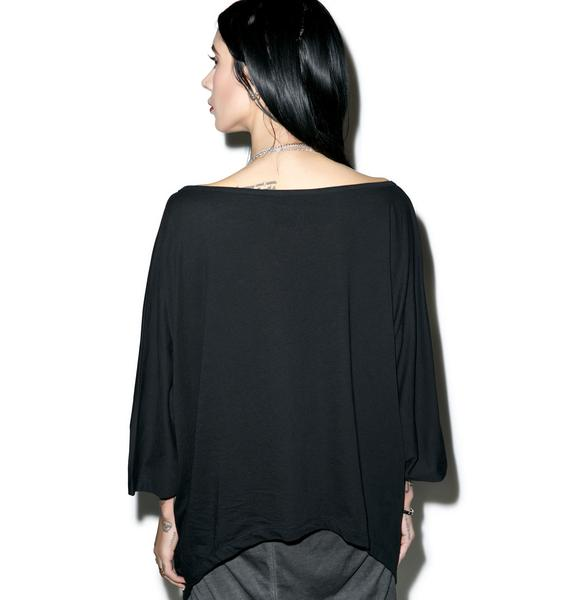 Killstar Taurus Drape Top
