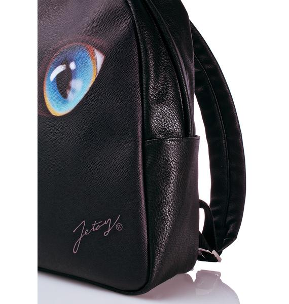 Jetoy Cat Face Backpack