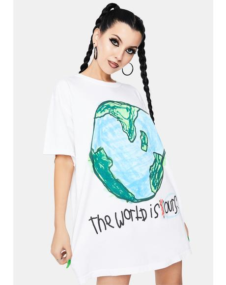 Our World Graphic Tee